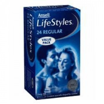Lifestyle Condom Regular 24