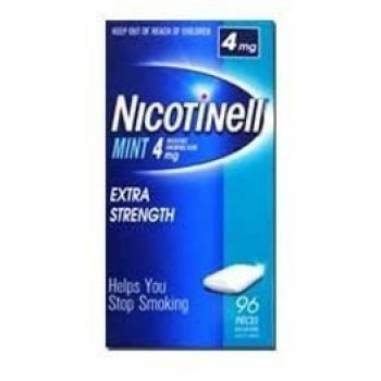Nicotinell Gum Mint 4mg 96 Tabs