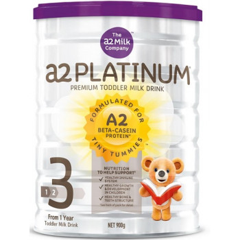 a2 Platinum Premium Toddler Milk Formula Step 3 900g