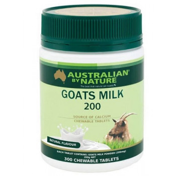 Australian by Nature Goats Milk 300 Chewable Tablets (Natural)