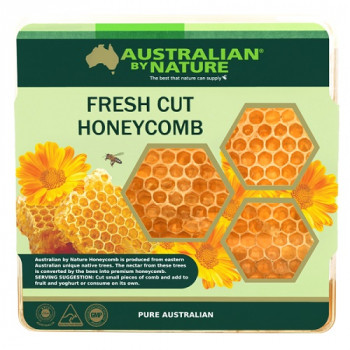 Australian by Nature Fresh Honey Comb Box