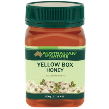 Australian by Nature Yellow Honey Box 500g