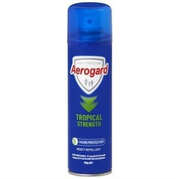 Aerogard Tropical Strength Aerosol 100g