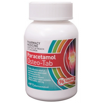 Paracetamol Osteo-Tab Bottle 96 Tablets