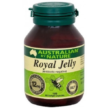 Australian by Nature Royal Jelly 1000mg 6 x 60 Capsules