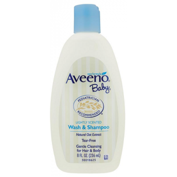 Aveeno Baby Wash and Shampoo 236mL
