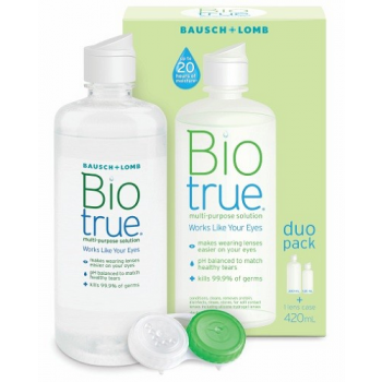 B&L Biotrue Multi-Purpose Solution Duo Pack