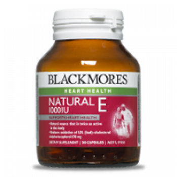 Blackmores Natural E 1000IU 30 Caps