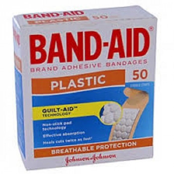 Band-Aid Plast/Strip  50