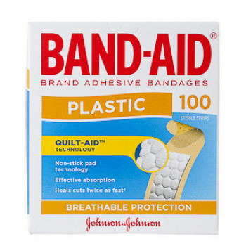 Band-Aid Plast/Strip 100
