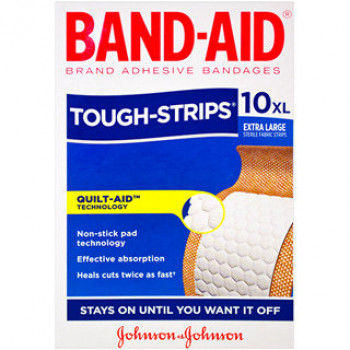 Band-Aid Tough Strips Xlg