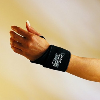 Bio Magnetic Wrist Support Black