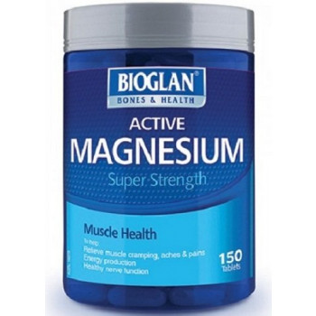 Bioglan Active Magnesium 1000mg 150 Tablets