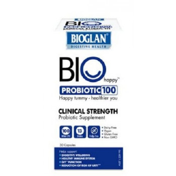 Bioglan Bio Happy Probiotic 100 30 Capsules