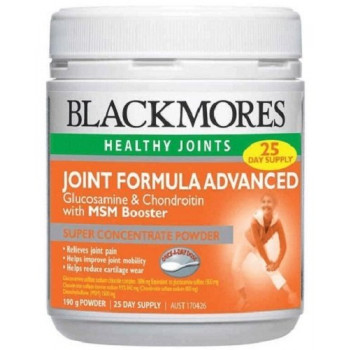 Blackmores Joint Formula Advanced + MSM Booster x 190g Powder