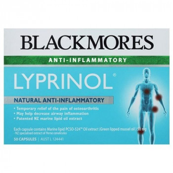 Blackmores lyprinol 50 mg x 50 caps