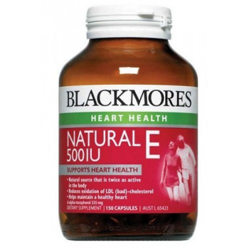 Blackmores Natural E 500IU 150 Caps