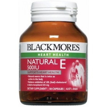 Blackmores Natural E 500IU 50 Caps