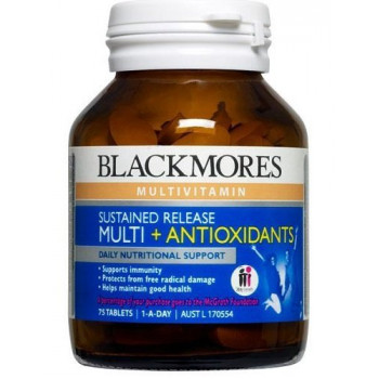 Blackmores Sustained Release MULTI +ANTIOXIDANTS 75TABS