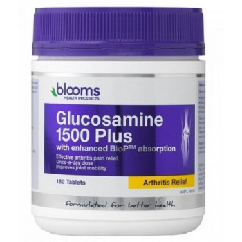 Blooms Glucosamine 1500 Plus 180 Tab