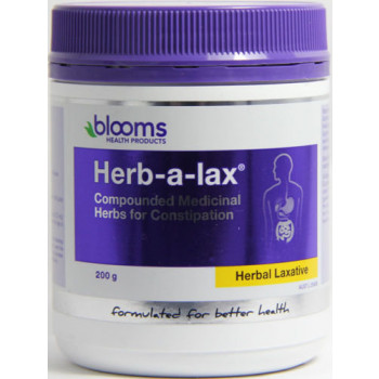 Blooms Herb-a-lax Blended Medicinal Herbs 200g
