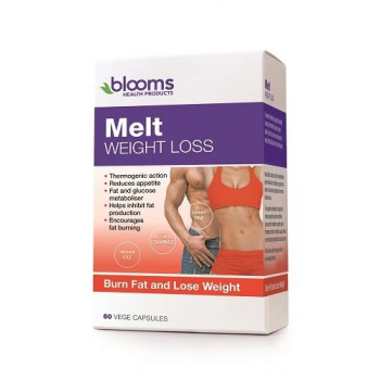 Blooms Melt Weight Loss Formula 60 Vege Cap