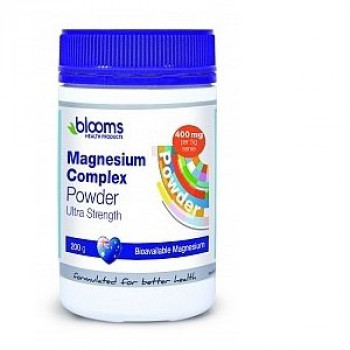 Blooms Health Magnesium Complex Powder 200g