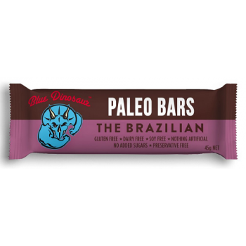 Blue Dinosaur Paleo Bars – The Brazilian 12x45g