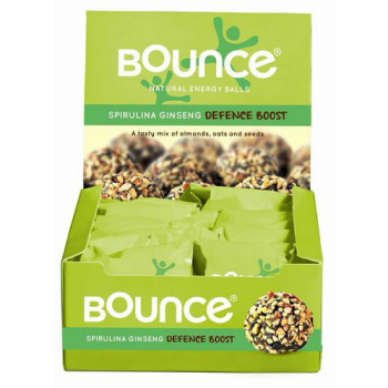 Bounce Spirulina And Ginseng Defence Boost Balls 12x40g