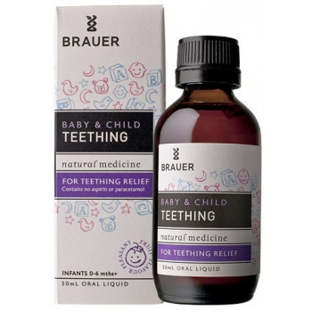 Brauer Baby & Child Teething Relief Oral Liquid 50mL