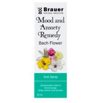 Brauer Mood And Anxiety Remedy Bach Flower 20ml