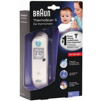 Braun ThermoScan 5 Ear Thermometer IRT 6030