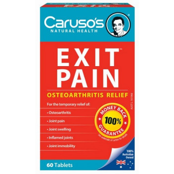 Caruso's Exit Pain Osteoarthritis Relief 60 Tablets