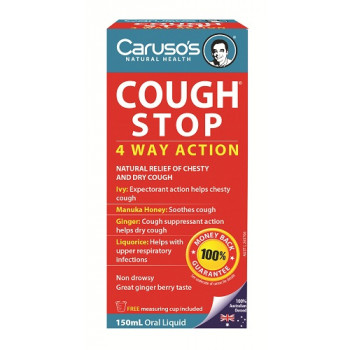 Caruso's Cough Stop 150mL Oral Liquid