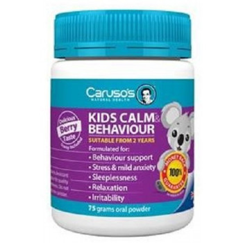 Caruso's Kids Calm and Behaviour 75grams Oral Powder