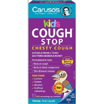 Caruso's Kids Cough Stop Chesty Cough 150mL
