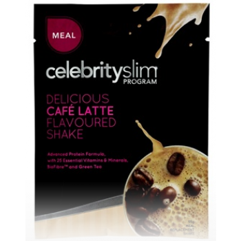 Celebrity Slim Meal Shake 55g X 12 Cafe Latte