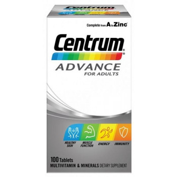Centrum Advance for Adults 100 Tablets