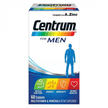 Centrum For Men 60 Tablets