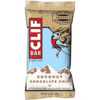 Clif Bar Coconut and Chocolate Chip 12 x 68g