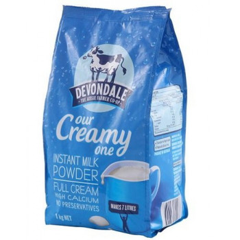 Devondale Instant Full Cream Milk Powder 1kg