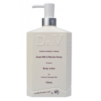 Dr. V Goats Milk & Manuka Honey Body Lotion 750ml