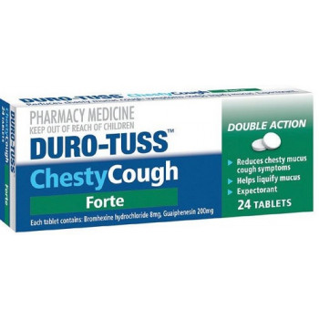 Duro-Tuss Chesty Cough Forte 24 Tablets
