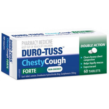 Duro-Tuss Chesty Cough Forte 60 Tablets