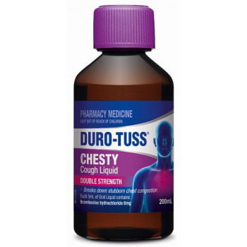 Duro-Tuss Chesty Cough Liquid Double Strength 200mL