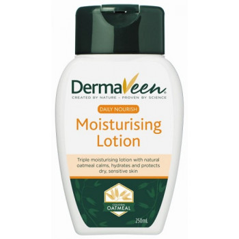 DermaVeen Daily Nourish Moisturising Lotion 250ML