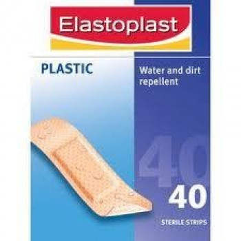 Elastoplast Plastic Strips  (30 x 72mm) 40 Strips