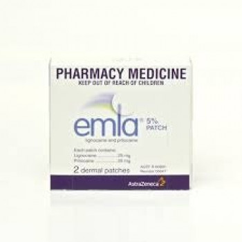 EMLA PATCHES 2 PACK
