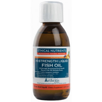 Ethical Nutrients Liquid Fish Oil Fruit Punch 170mL