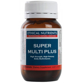 Ethical Nutrients Super Multi Plus 30 Tabs.